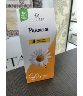 Напиток чайный. Фиточай Meditea «Ромашка», 21 г, Biotest