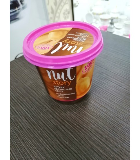 Паста арахисовая Nut Story, 350 гр.