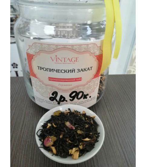 """Черный чай с добавками """"Тропический закат"""""""