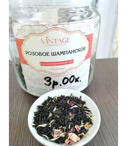 """Черный чай с добавками """"Розовое шампанское"""""""
