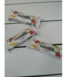 Батончик Cornline из цельных злаков с клюквой и воздушным рисом, 30 г