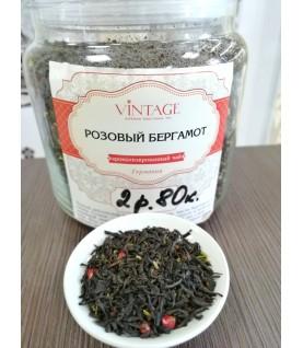"""Черный чай с добавками """"Розовый бергамот"""""""
