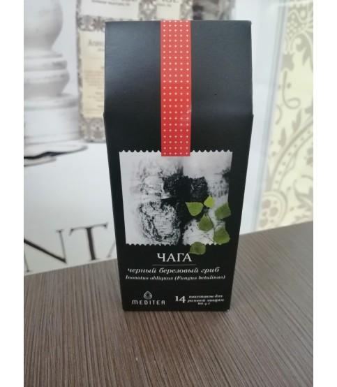 Напиток чайный. Фиточай Meditea «Чага», 56 г, Biotest
